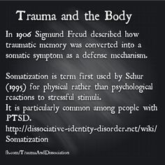 Trauma and body